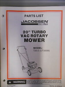 homelite parts list manual 20 turbo rotary mower t20 2 ebay rh ebay com homelite lawn mower ut13126 manual Homelite Lawn Mower Battery