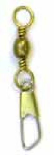 Eagle Claw 01141-5 Brass Snap Swivel 12 ct 7370