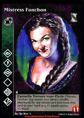 Vtes v tes-mistress Fanchon-tremere//keepers of tradition