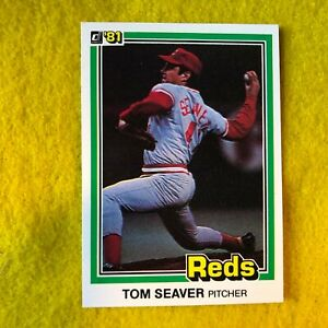 CINCINNATI-REDS-NEW-YORK-METS-TOM-SEAVER-1981-DONRUSS-MLB-BASEBALL-CARD-425
