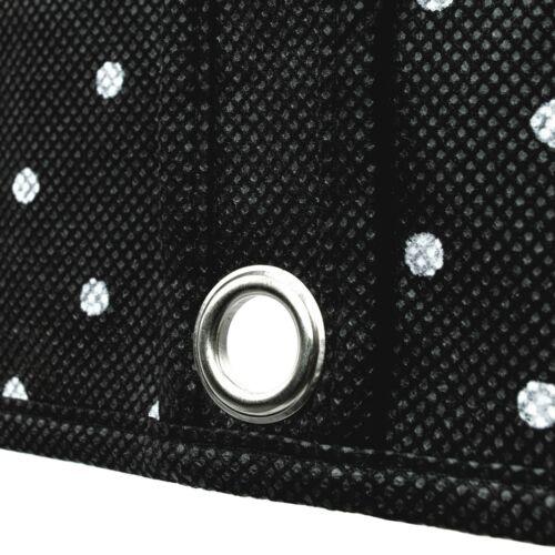 "Hangerworld™ Spotty Black Set 2 Wooden Coat Hangers 60/"" Dress Cover Clothes Bag"