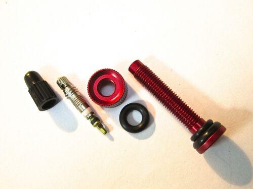 Gratuit Core /& Remover MT ZOOM Ultralight Tubeless Presta 50 mm 70 mm 110 Mm Vanne