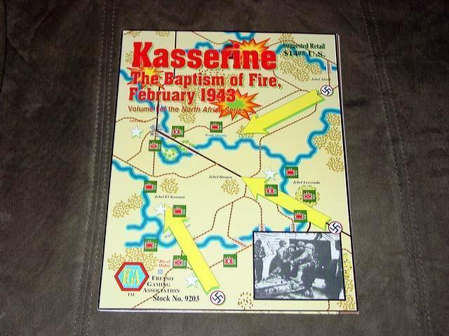 Fresno Gaming-North Afrika Series Volume I  Kasserine baptême du feu fév 43'