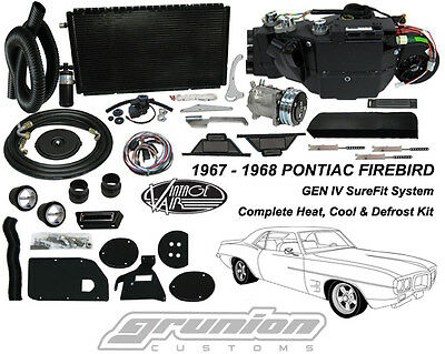 Vintage Air Gen IV SureFit System Kit 1967 1968 Ford Mustang with Factory AC Complete Kit