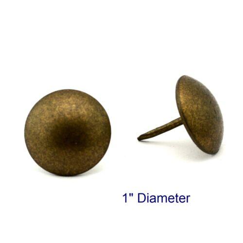 """Osborne 250 Pcs 1/"""" Diameter Natural Nail #7256-N Upholstery Tack C.S"""