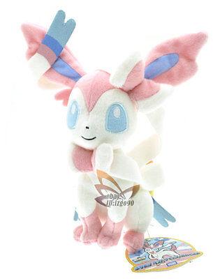 """New Pokemon 10"""" Sylveon Rare Soft Plush Toy Doll/PC2136"""
