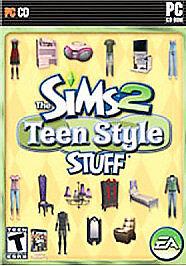 sims 2 teen style stuff pc 2007 g nstig kaufen ebay. Black Bedroom Furniture Sets. Home Design Ideas