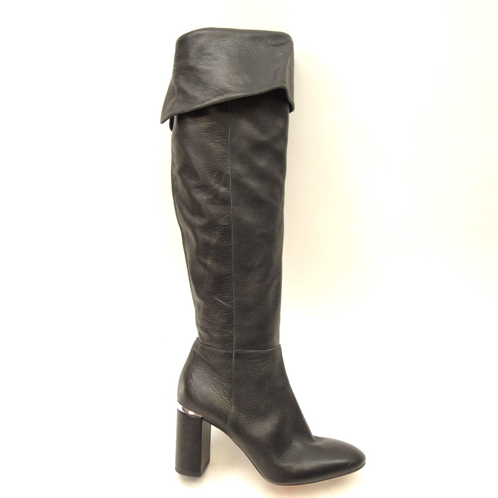in cerca di agente di vendita New New New Lewit donna Renata Cuff Over the Knee nero Soft Leather avvio 38.5  spedizione veloce e miglior servizio