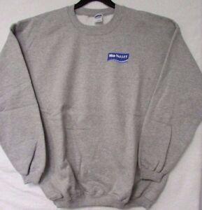 Gildan Athletic Sweat-shirt Xl Gris Pullover Transat Lourd Mélangé A9-4 Neuf-afficher Le Titre D'origine