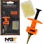 NGT-Carp-Fishing-Tackle-Pellet-Bind-Bandes-Outil-50-gratuit-Appat-Bandes miniature 1