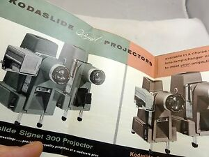 bell & Howell Color Slide Projectors Brochure price list (EN) English 1958