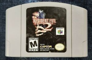 Resident Evil 2 (Nintendo 64, 1999) Cart Only, Tested, Original, See Pics! Nice!
