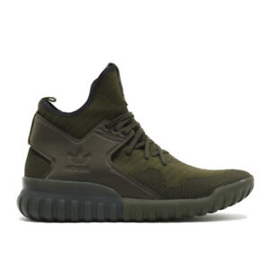 factory price 9a7d0 5a148 Image is loading Men-Knitted-Shoes-ADIDAS-TUBULAR-X-PRIMEKNIT-S76713-