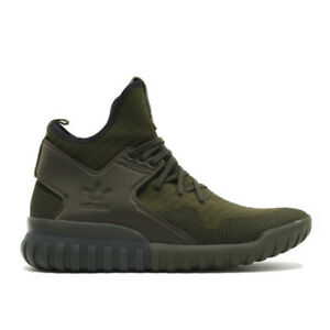 3c452cfb4d2b Image is loading Men-Knitted-Shoes-ADIDAS-TUBULAR-X-PRIMEKNIT-S76713-