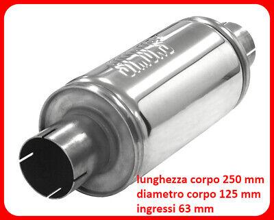 silenziatore per Tubi in Acciaio Inossidabile Accessori Kit riscaldatore per Auto 120 cm Mondayup Silenziatore di Scarico
