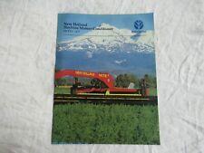 New Holland 1475 Haybine Mower Conditioner Brochure
