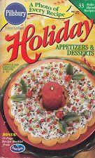 HOLIDAY APPETIZERS & DESSERTS PILLSBURY COOKBOOK DECEMBER 1998 #214 DESSERT MORE