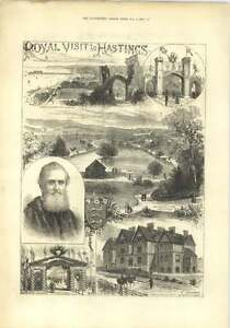 1882-Royal-Visit-To-Hastings-St-Leonards-Convalescent-Home-Children