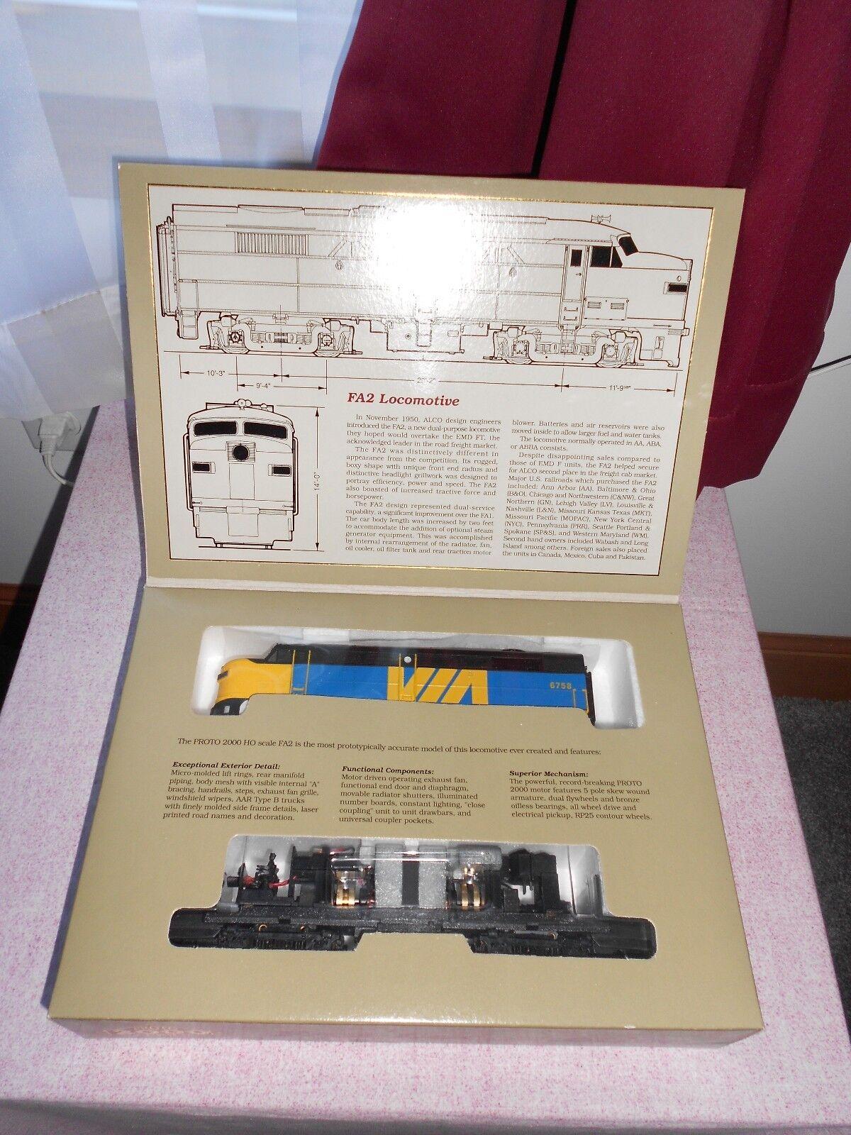 Projoo 2000 FA2 Diesel Locomotora HO calibre por ferroCocheriles DC Nuevo En Caja