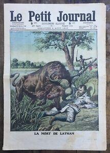 Le-Petit-Journal-N-1133-du-4-08-1912-La-mort-de-LATHAM