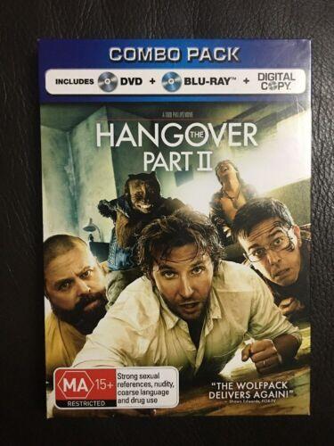 1 of 1 - The Hangover Part II Blu-ray (DVD + Bluray)