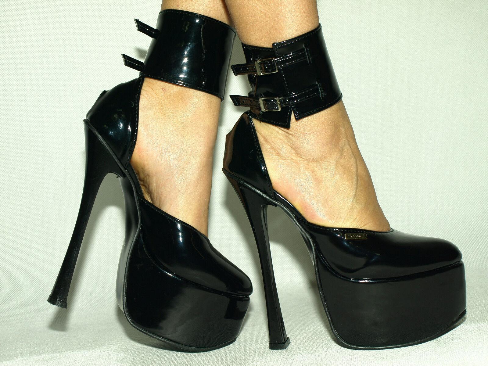Highs Heels 20cm lack pu 37 38 39 40 41 42 43 44 45 46 47 Bolingier-Poland 1455