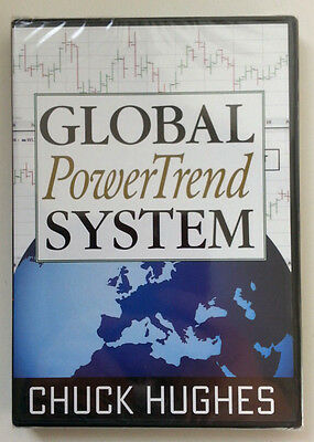 *RARE* GLOBAL POWERTREND SYSTEM by Chuck Hughes * New Stock Trading DVD *