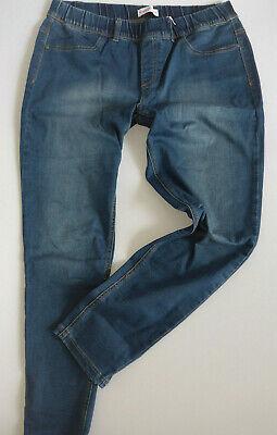 Sheego 7//8 Hose Jeans Caprihose Gr 765 NEU 40-58 Blue Abnäher