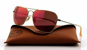 689dab895da5c3 Image is loading NEW-Authentic-Ray-Ban-CARAVAN-Bronze-Copper-Red-