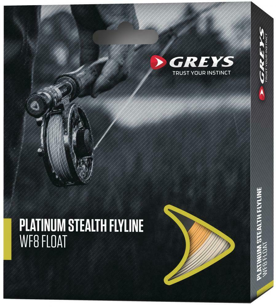 Greys Platinum Stealth Flyline Sinking Line ALL SIZES