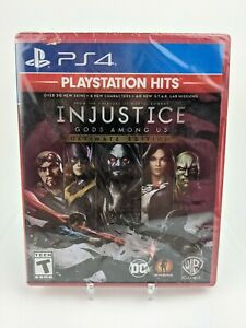 Injustice: Gods Among Us Ultimate Edition - PlayStation Hits PS4 Brand New