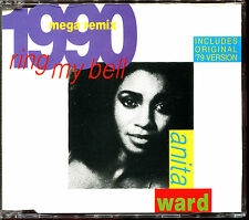 ANITA WARD - RING MY BELL (1990 MEGAREMIX) - CD MAXI [866]