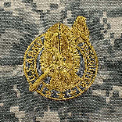 US ARMY DIGITAL CAMO SHIRT GOLD RECRUITER IDENTIFICATION BADGE ACU SEW ON  PATCH   eBay