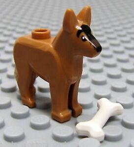 Dog LEGO Dog House bone German Shepherd animal