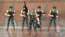 Action Force/GI Joe Squad of 5 Modern Night Force Grunts