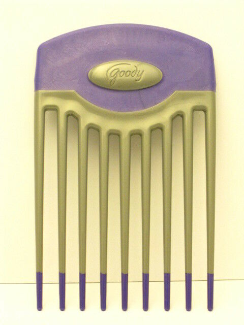 GOODY GRIP & LIFT HAIR PICK  - PURPLE AND GRAY (58459)