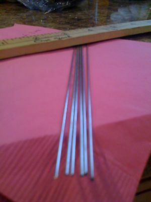 """25 Tinned Music Wire 13 inch .045 WIRE SHAFTS Muskie LURE /""""Fast  Shipping/"""""""