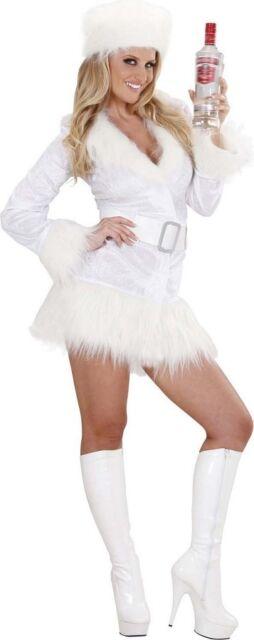 White Russian James Bond 007 Spy Las Fancy Dress Costume S L