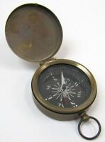 1.75 Brass Compass With Cover - Pocket Compass - Scout- Hiking - Camping