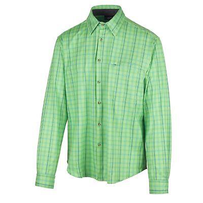Ben Informato Cmp Fleecehemd Funzione Camicia Quadri Camicia Verde Dryfunction Triete-mostra Il Titolo Originale Originale Al 100%