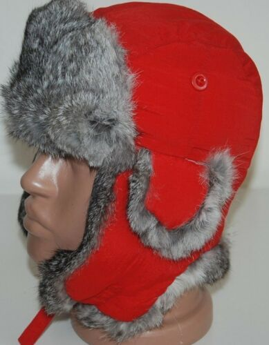 Fur Crown Nathaniel Rabbit Trapper Aviatore Cole S Winnipeg Hat Canada 55 Cap Rosso tdQhsr