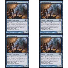 4 x PHANTASMAL BEAR NM mtg M12 Blue - Bear Illusion Com