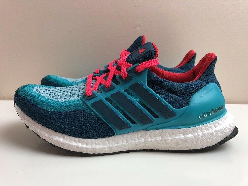 Adidas 8 Ultra Boost M Trainers Running Hommes 8 Adidas EUR 42 Green AQ4005 b1ac26
