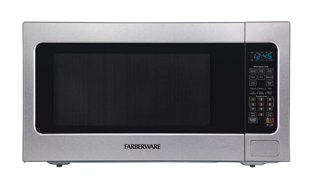 Farberware Professional 2.2 Cu. Ft. 1200-Watt Microwave Oven with Smart Senso...