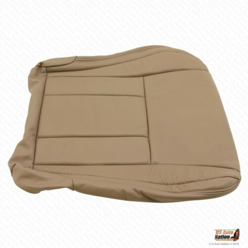 Driver Bottom Oak Tan Leather Seat Cover For 1996 1997 1998 1999 Toyota 4Runner
