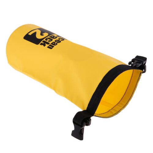 2L PVC Waterproof Dry Bag Sack for Canoe Boating Kayaking Floating Fishing