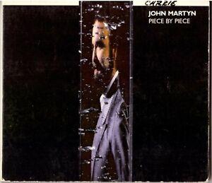 JOHN MARTYN Piece by Piece CD U.K. Soft Rock – on Island Records, in Digipak