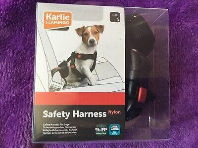 Black Small//Medium Karlie Flamingo Safety Harness