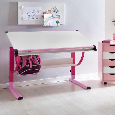 Kinderschreibtisch Schreibtisch Anna Schülerschreibtisch Höhenverstellbar Knitterfestigkeit