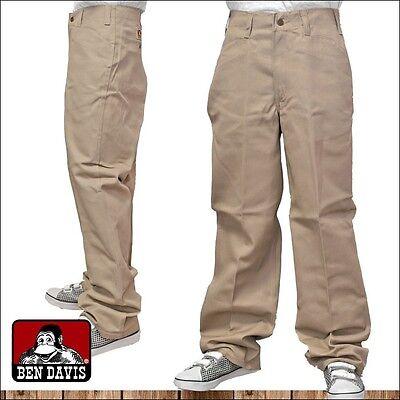 Ben Davis - Original Classic 50 / 50 Blend Mens Twill Pants -